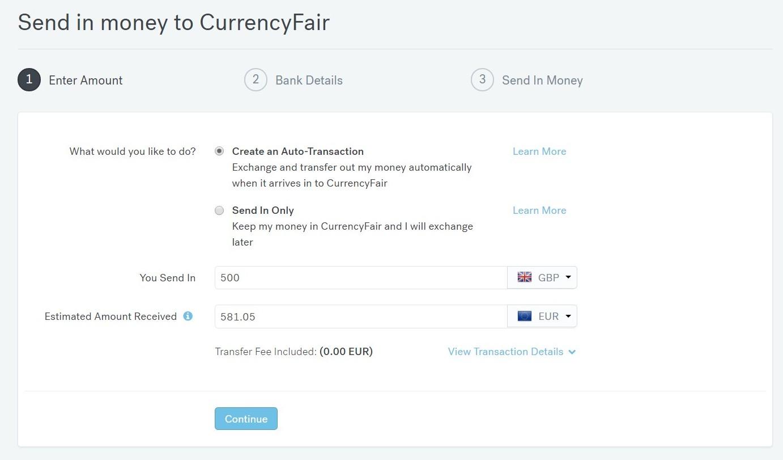 Lacný prevod peňazí do zahraničia cez CurrencyFair.