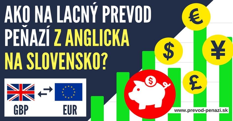 aký prevod peňazí z anglicka na slovensko sa oplatí?
