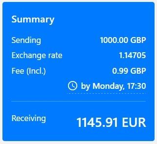 pri vyššej sume ako 1000 eur je prevod peňazí zo zahraničia výhodnejší