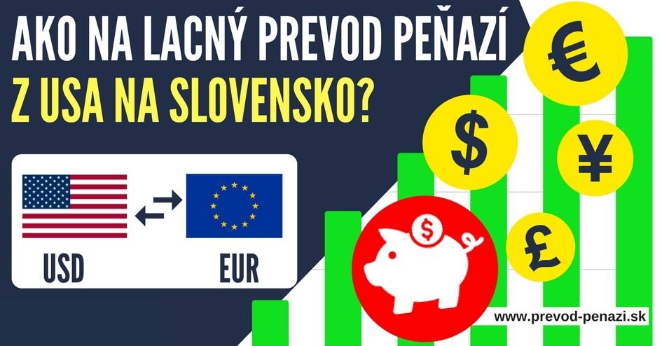 ako na lacný prevod peňazí z usa na slovensko porovnanie